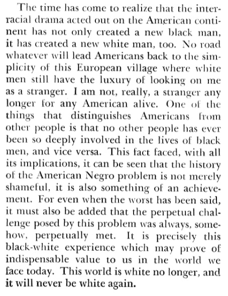 James Baldwin Stranger In The Village   American Studies  Essay About America Europe And The West Because It Both Typifies And  Challenges Much That We Talk About When We Talk About The American Century